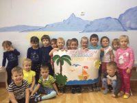коллективная работа Черное море, 2 младшая группа