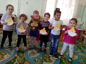 Пасхальные поделки от детей 2 младшей группы (воспитатель Глинкина Ж.В.)